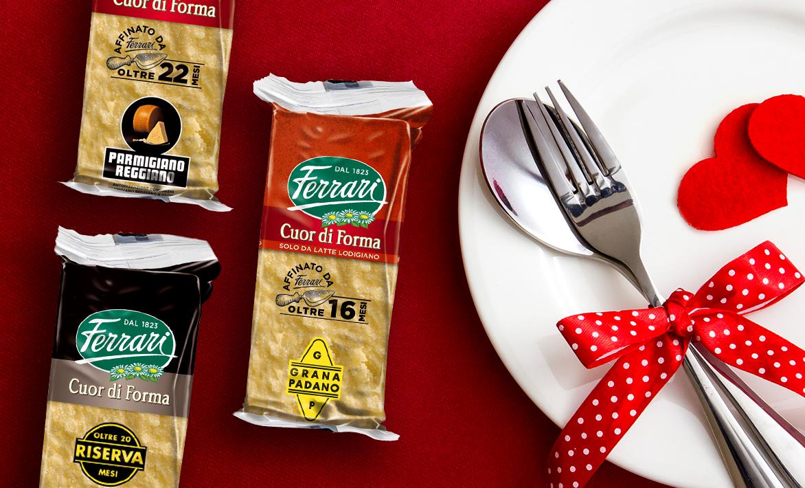 Sfumature di sapore a San Valentino: scopri i Cuor di Forma Ferrari