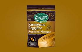 Parmigiano Reggiano Prodotto di Montagna Grattugiato