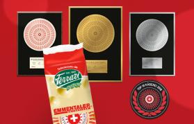 Medaglia d'oro e d'argento per l'Emmentaler Ferrari