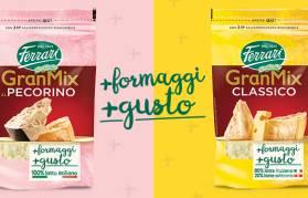 Dall'unione sapiente del meglio della tradizione casearia, il gusto inimitabile di GranMix!
