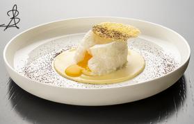La ricetta stellata dello chef Berton con Grana Padano Riserva Ferrari!