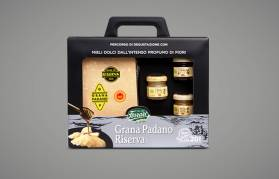 Grana Padano Riserva Matured For Over 20 Months With Honeys