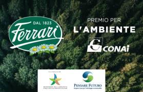 Eco sostenibilità: CONAI premia Ferrari Formaggi