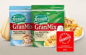 Due GranMix sono stati eletti prodotti dell'anno 2013
