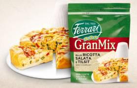 Con GranMix Ricotta Salata e Tislit bastano 3 semplici mosse per una gustosa torta salata