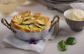 Pie di zucchini e spinaci