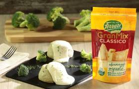 Sformatini di broccoli con salsa al formaggio