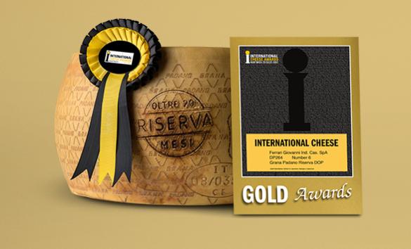 Medaglia d'oro al Grana Padano Riserva
