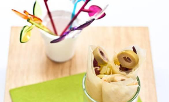 Coni di GranSfoglia finger food