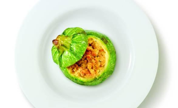 Zucchine ripiene alla vegetariana