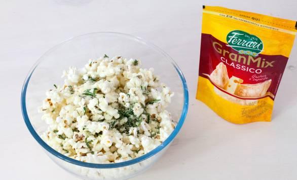 Popcorn al GranMix Classico Ferrari e rosmarino