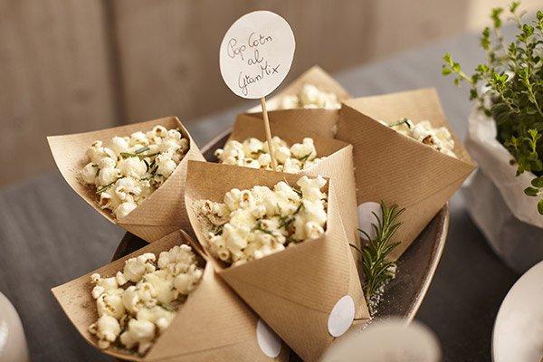 Foto dei Popcorn con GranMix Classico Ferrari e Rosmarino