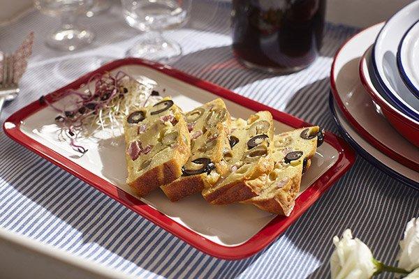 Vassoio di Cake alle olive e Formaggio GranMix al Pecorino Ferrari