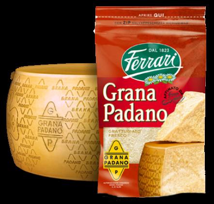 Grated Grana Padano