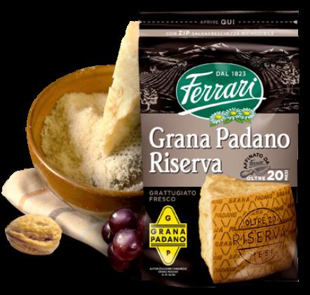 Grated Grana Padano Riserva