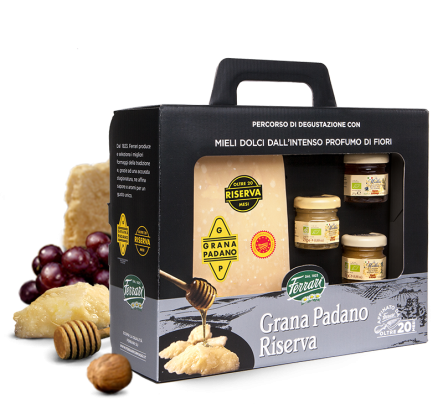 Grana Padano Riserva Matured For Over 20 Months With The Slow Food Presidia