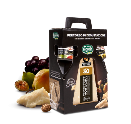 Parmigiano Reggiano di Montagna 30 Months with Sweet-Spicy Fruit Sauces