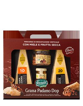 Percorso di degustazione verticale Grana Padano DOP