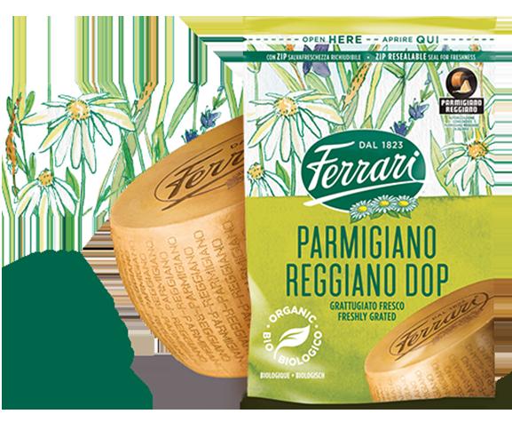 Parmigiano Reggiano Biologico Grattugiato