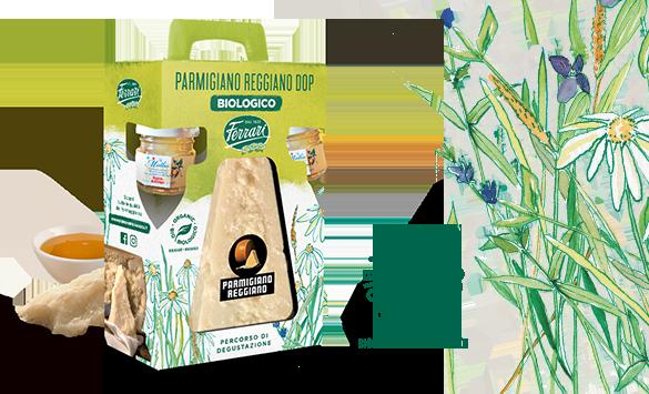 Parmigiano Reggiano Dop formaggio biologico
