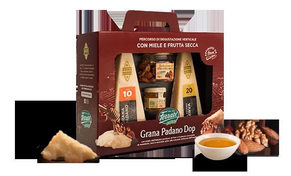 Degustazione Formaggio Grana Padano con miele
