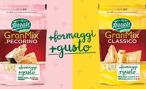 Expertly combining the best cheese-making traditions to create the unique taste of GranMix!