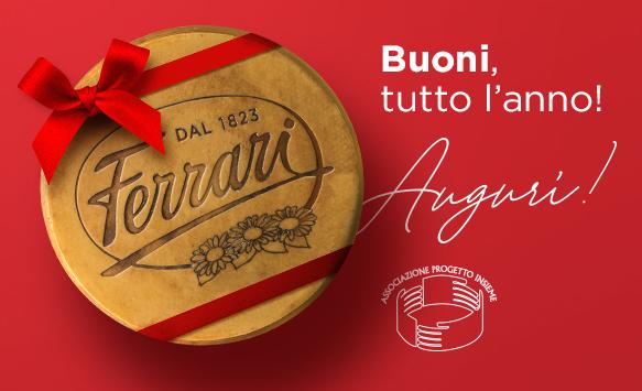 """Buoni tutto l'anno: il sostegno di Ferrari a """"Progetto Insieme"""" Onlus"""