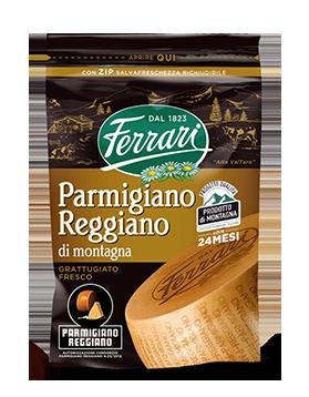 Parmigiano Reggiano Prodotto di montagna – Progetto Qualità - Grattuggiato